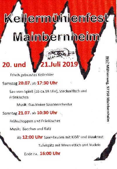 Kellermühlenfest 2019