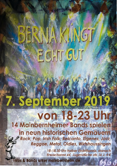 BERNA - klingt echt gut - 07.09.2019