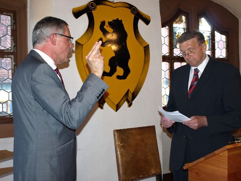 Vereidigung 1. Bürgermeister                   Foto: T.Lechner