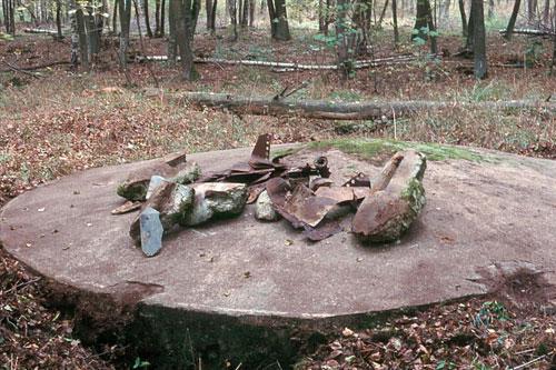 Bombenabwurfplatz vor dem 2. Weltkrieg