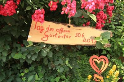 Tag der offenen Gartentür 30.06.2013