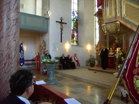 Amtseinführung von Pfarrer Paul Häberlein