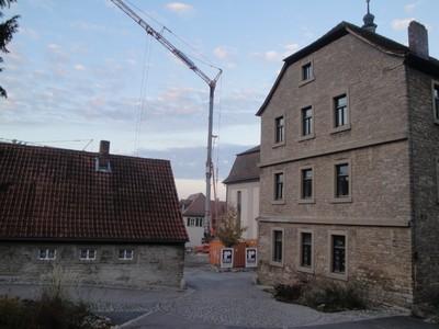 Richtfest Radlerherberge Schulgasse 5