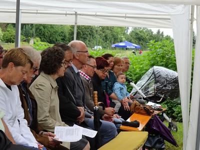 Fotos Einweihung Grabengärten am 12. Juni 2016
