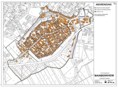 Karte Sanierungsgebiet