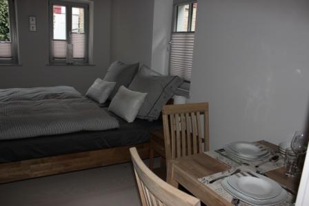 Wohnraum mit Schlafgelegenheit