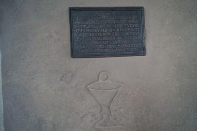 Enthüllung Grabmal Pfarrer Schober