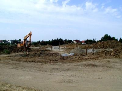 Erschließung Baugebiet