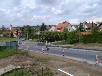B8 Kreisverkehr